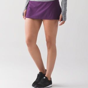 Lulu lemon skirt with shorts